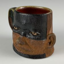 3045, wood fired face mug, $65 – Version 2